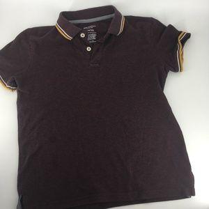 Arizona Polo Shirt w/ Striped Collar & Sleeve